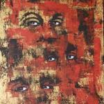Pompei Maila - L'ossessione - 60x40 - acrilico su tela